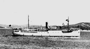 El vaixell <em>Ciudad de Algeciras</em>.