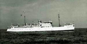 El vaixell <em>Ciudad de Alicante</em>.