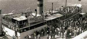 El vaixell <em>Ciudad de Ceuta</em>.