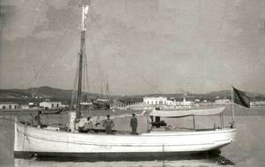 El vaixell <em>Ciudad de Formentera</em>.