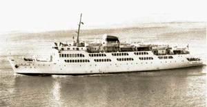 El <em>Ciudad de Tarifa</em>, que entrà en servei el 1961.