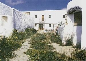 Can Xomeu Jordi, a la vénda de Cala Llonga, la casa natal de Josep Clapés i Juan.