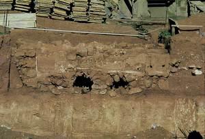 Vista de les voltes de l´hipocaust des Clot de Baix. Foto: Rosa Gurrea Barricarte / Joan Ramon Torres.