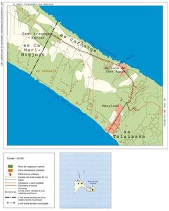 Mapa de la vénda de ses Clotades. Elaboració: UIB / Laboratori de Sistemes d´Informació Geogràfica / Josep Antoni Prats Serra.
