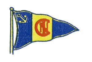 Distintiu del Club Nàutic d´Eivissa.