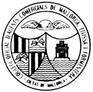Anagrama del Col·legi Oficial d´Agents Comercials de Mallorca, Eivissa i Formentera.