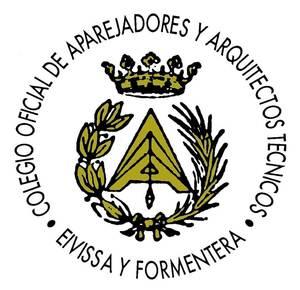 Anagrama del Col·legi Oficial d´Aparelladors i Arquitectes Tècnics d´Eivissa i Formentera.