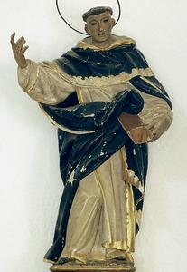 Vicent Ferrer, després considerat sant, va participar com a representant del regne de València al Compromís de Casp i afavorí la candidatura de Ferran d´Antequera. Foto: Antoni Ferrer Abárzuza.