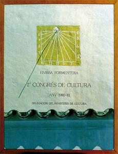 Cartell anunciador del Congrés de Cultura Pitiüsa.