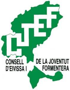 Logotip del Consell de la Joventut d´Eivissa i Formentera.