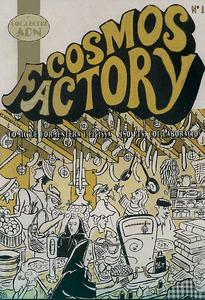Portada de la revista de còmic formenterera <em>Cosmos Factory</em>.