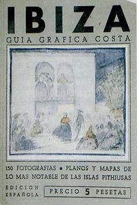 """Coberta de la <em>Guía gráfica Costa</em> de Josep Costa """"Picarol""""."""