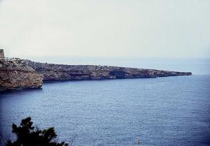 Ses Covatxes, a la punta Prima de Formentera. Foto: Enric Ribes i Marí.