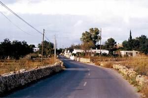 El camí de sa Creu des Magres. Foto: Enric Ribes i Marí.