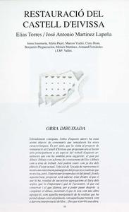 Ressenya del projecte d´E. Torres i J. A. Martínez-Lapeña per a la restauració del Castell d´Eivissa publicada al primer número de la revista D´A.