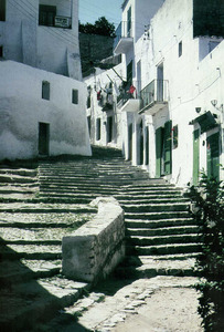 La barda des Portal Nou, a la vora de l´entrada per ponent a Dalt Vila. Foto: cortesia d´Eduardo J. Posadas López.