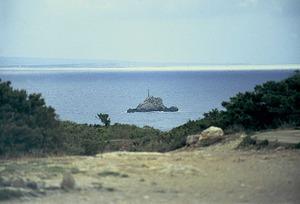 El Dau Gros amb la balisa. Foto: Enric Ribes i Marí.