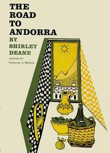 Coberta del llibre <em>The road to Andorra</em>, obra de Shirley Deane.