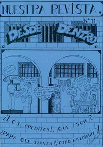 <em>Desde Dentro</em>, revista interna del Centre Penitenciari d´Eivissa des de 1989.