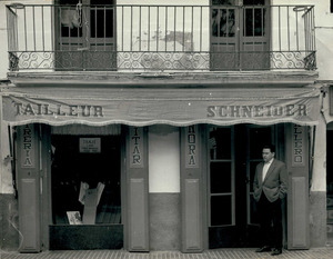 La sastreria Despuig, al racó de sa Plaça de la ciutat d´Eivissa. Foto: cortesia d´Adrià Ribas.