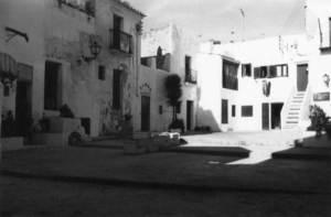 La plaça de sa Drassaneta, al barri mariner de sa Penya. Foto: Rosa Vallès Costa.