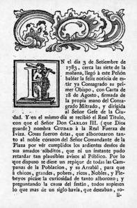Història contemporània. Fulletó imprès on es recullen les celebracions organitzades per l´Ajuntament d´Eivissa per celebrar la creació del bisbat i la concessió del títol de ciutat.