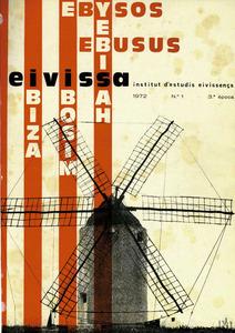 Exemplar n&uacute;m. 1 (1972) de la tercera &egrave;poca de la revista <em>Eivissa</em>.