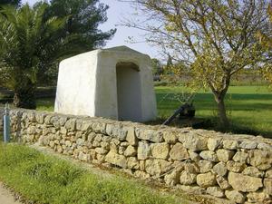El pou de s´Escanyacà, a Santa Gertrudis de Fruitera. Foto: Felip Cirer Costa.