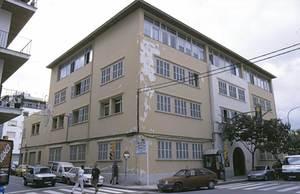 Antic edifici de l´Escola d´Art d´Eivissa, ubicat a l´avinguda d´Espanya i finalitzat el 1936. Foto: Raymar.