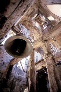 El visitador Rafel Llinàs, el 1539, va beneir les campanes de l´església de Santa Maria. Foto: Vicent Marí.