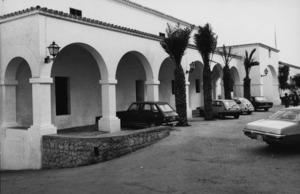 La plaça d´Espanya, coneguda popularment com plaça de l´Ajuntament. Foto: Josep Buil Mayral.