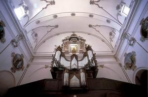 El mestre Jaume Espinosa va treballar en la reconstrucció de la nau de la Catedral el s. XVIII. Foto: Vicent Marí.