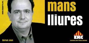 Cartell electoral d´Esquerra Republicana de Catalunya.