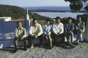 Els caps de llista d´Esquerra Unida que es presentaren a les eleccions locals el 1995. Foto: cortesia d´Esquerra Unida.