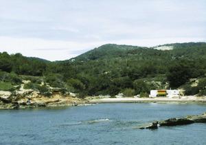 S´Estanyol, a la costa del poble de Jesús. Foto: Josep Cardona Riera.