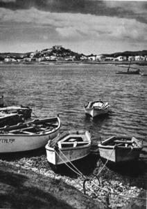 Una altra imatge de ses Estaques, amb cinquanta anys m&eacute;s d´antiguitat. Extret de <em>Gu&iacute;a de Mallorca, Menorca e Ibiza</em>.