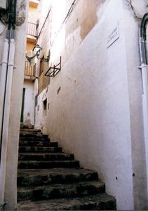 El carreró de l´Estrella, al barri de sa Penya. Foto: Josep Cardona Riera.