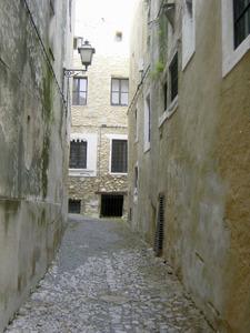 Carrer de la Soledat, on vivia Josep Ferrer i Cirer. Foto: Felip Cirer Costa.
