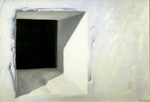 Finestra. Obra de Vicent Ferrer Guasch (1991).