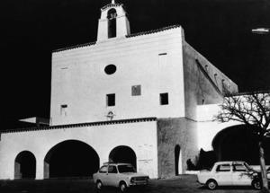 Pere Ferro va ser encarregat de les obres de l´església de Sant Josep de sa Talaia. Foto: Josep Buil Mayral.