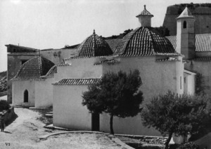 Pere Ferro també fou reconstructor de l´església del convent dels dominics. Foto: Josep Buil Mayral.