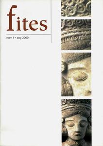 Portada del n&uacute;m. 1 de la revista <em>Fites</em> editada per l´Associaci&oacute; d´Amics del MAEF.