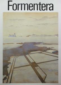 Cartell, obra del pintor i arquitecte Michel Foissin.
