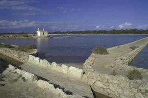 Formentera. Època baixmedieval. En el document de repartició de l´illa entre els conquistadors, la sal es repartia de manera proporcional segons l´aportació de cada magnat a l´empresa. Foto: David García Jiménez.