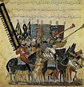 Formentera. Època medieval andalusina. Guerrers àrabs a la conquista d´Espanya.