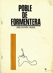 Formentera. Esports. La revista <em>Poble de Formentera</em>, editada per la secció de Formentera de l´Obra Cultural Balear entre els anys 1979 i 1980.