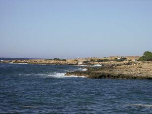 Els varadors des Forn de Cala Gració, situats entre cala Gracioneta i la punta de ses Alfàbies. Foto: Felip Cirer Costa.