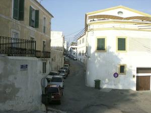 La porta dels Francolins, de les murades medievals d´Eivissa, es trobava al començament del carrer de Joan Roman. Foto: Felip Cirer Costa.