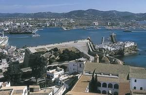 El baluard de Santa Llòcia també va rebre el nom de baluard des Frares, ja que el convent dels dominics era a la vora. Foto: Vicent Marí.