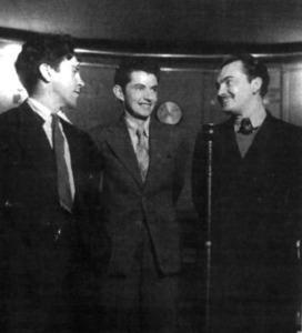 A la dreta, Àngel Palerm i Vich, dedstacat membre eivissenc del Front Popular.